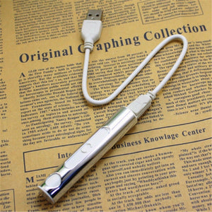 USB Lighter Electronic Rechargeable Flameless windproof