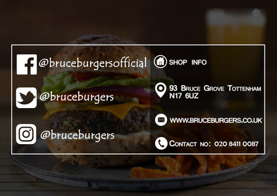 Bruce Burgers Business Card