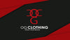OG Clothing Business Card - Red & Black Theme