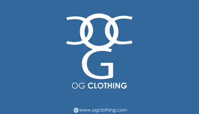 OG Clothing Business Card - Blue Theme