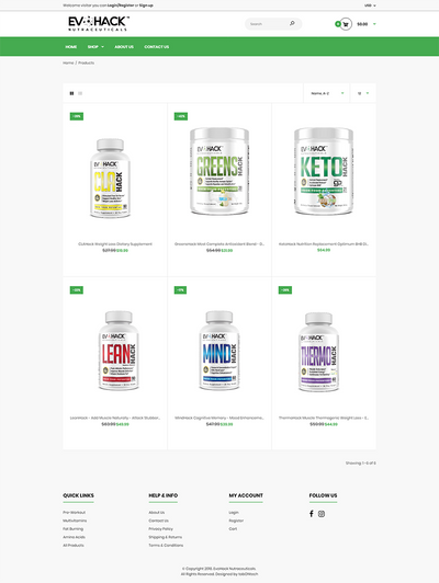 EvoHack Nutraceuticals