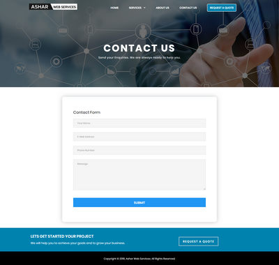 Ashar Web Services