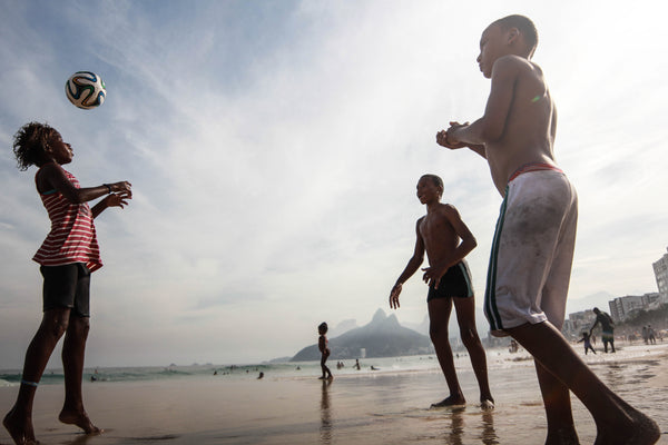 Football in Ipanema
