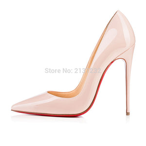 Pointed Toe Stiletto Pumps