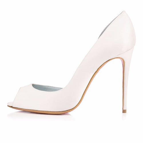 Peep Toe Stiletto Pumps