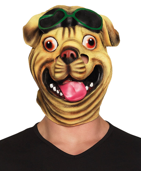 St. Latex gezichtsmasker Bulldog - Fiesta4you feestkleding deventer
