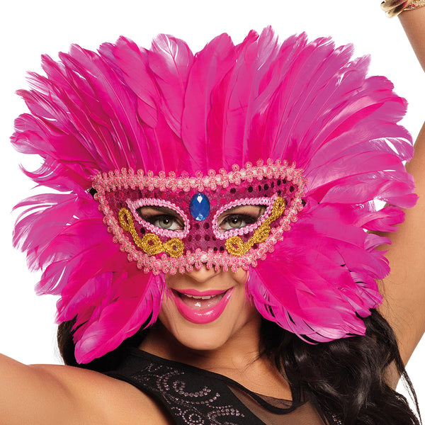 St. Oogmasker Flamingo queen - Fiesta4you feestkleding deventer