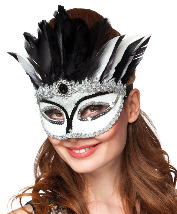 St. Oogmasker Venice gazza - Fiesta4you feestkleding deventer