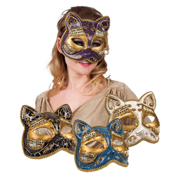 St. Masker Venice gatto 4 kleuren ass. - Fiesta4you feestkleding deventer