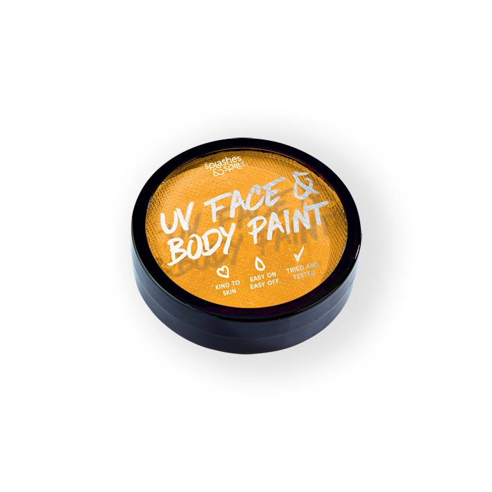 UV face&body cake paint orange (18g)