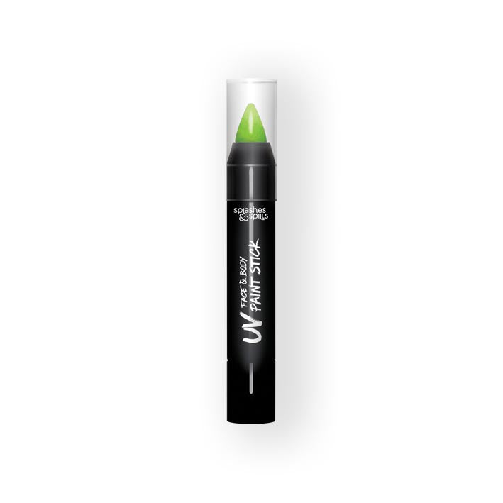 UV face&body paint stick green (3,9g)