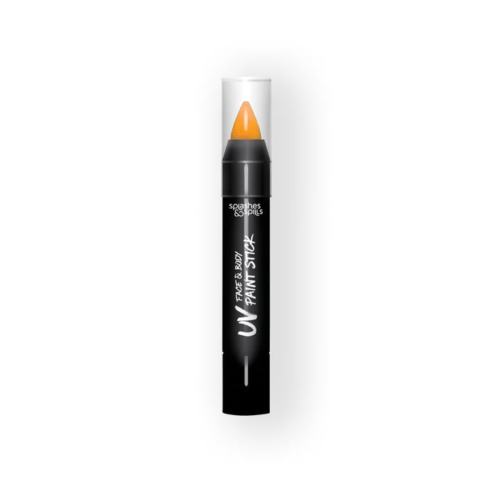 UV face&body paint stick orange (3,9g)