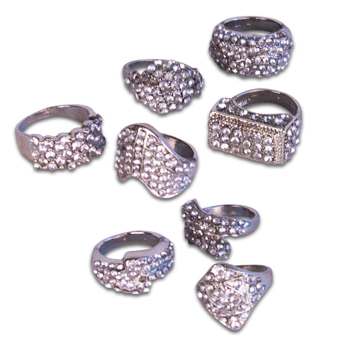 Ring strass (assorti)