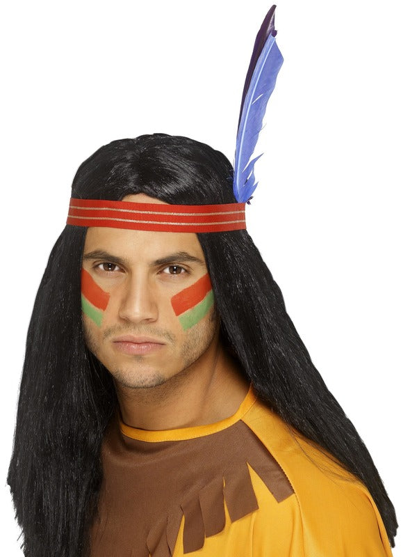 Native American Inspired Brave pruik