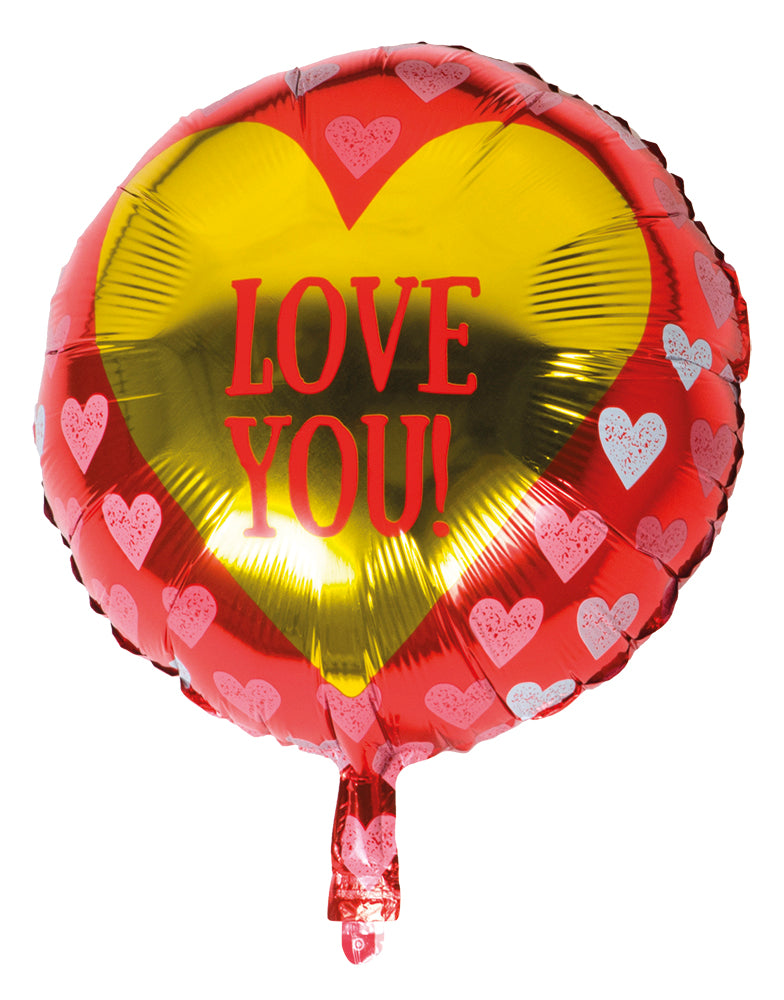 St. Folieballon 'Love you!' (45 cm)