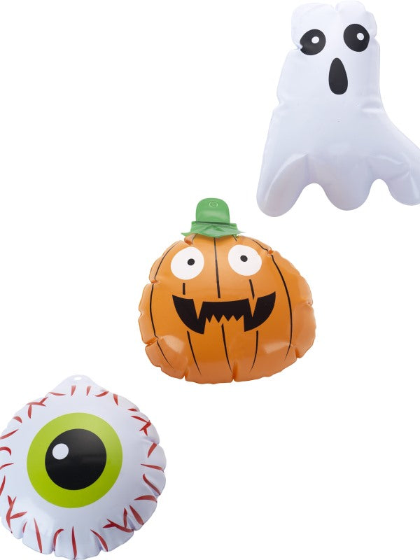 Mini Halloween Inflatables, Set of 3