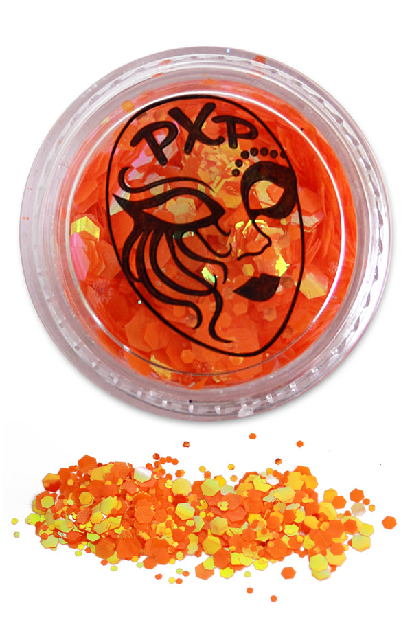 PXP Glitter Goldfish Orange Grove glitter