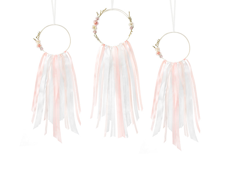 """Decoration kit - Dream catchers, mix   (1 zakje met 3 stuks)"""