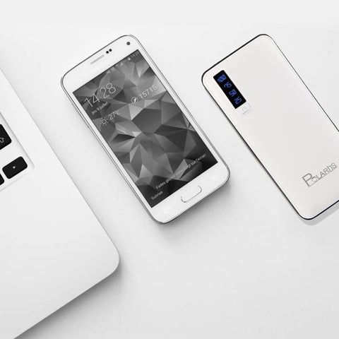 Polaris PowerCore 10000 mah Power Bank White (Made in India)