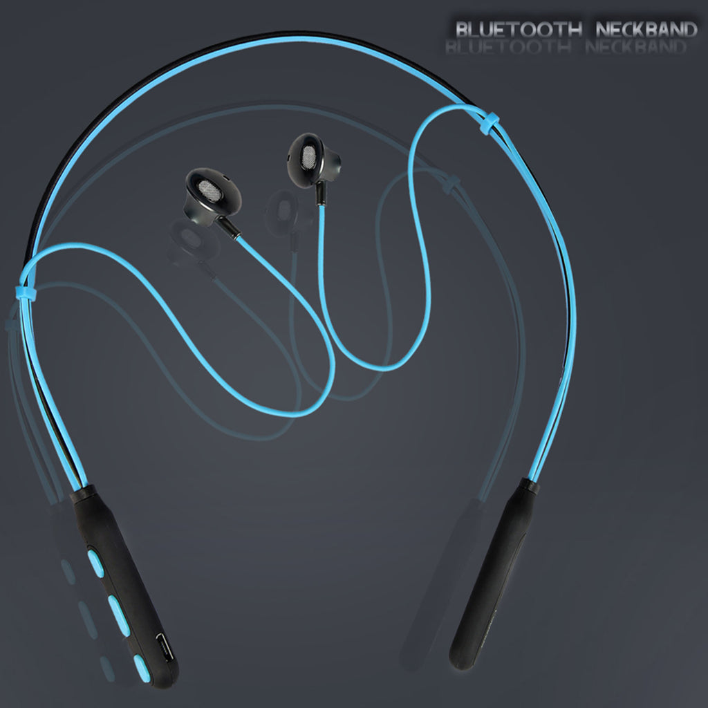 Polaris Bluetooth Neckband Wireless Magnetic Earphones with Mic