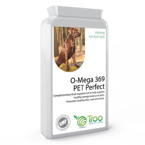 Pet O-Mega 369 Pet Perfect 1000mg 120 Capsules - Complete Pets
