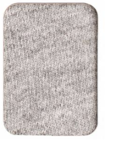 25 Textured Grey - French Terry