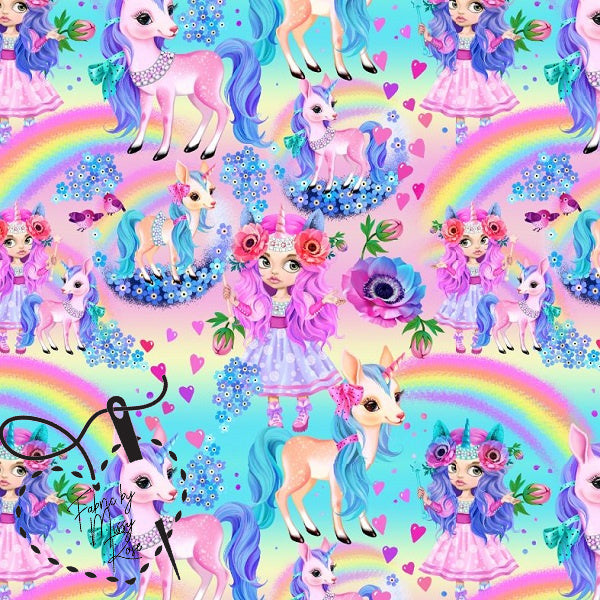 Design 1 - Unicorn Girl