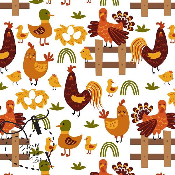 Design 114 - Chickens