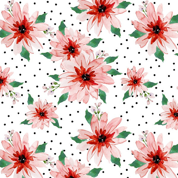 IB Christmas - Poinsettia Dots 04