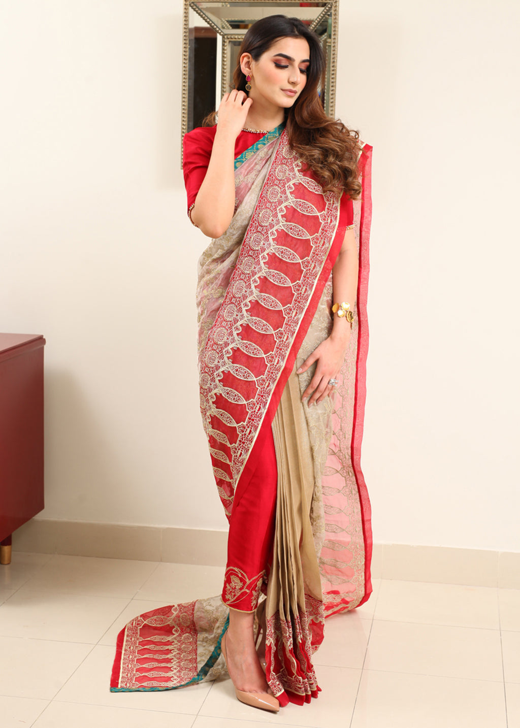 Saree Pants