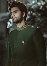 Emerald Green Sherwani