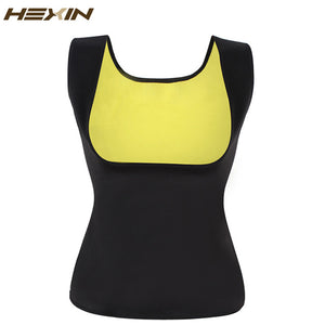 HEXIN Neoprene Vest Waist Trainer Fajas Sweat Body Shaper Slimming Shapewear Tank Top Workout Corset Underbust Waist Trainer 6XL - JMOOREKNOWSBEST
