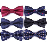 Bowtie men formal necktie boy Men's Fashion business wedding bow tie Male Dress Shirt krawatte legame gift - JMOOREKNOWSBEST