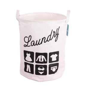 SDARISB Foldable Cotton Washing Clothes Folding Storage Basket Bag Waterproof Instoragebarrels Laundry Hamper Top Fashion - JMOOREKNOWSBEST