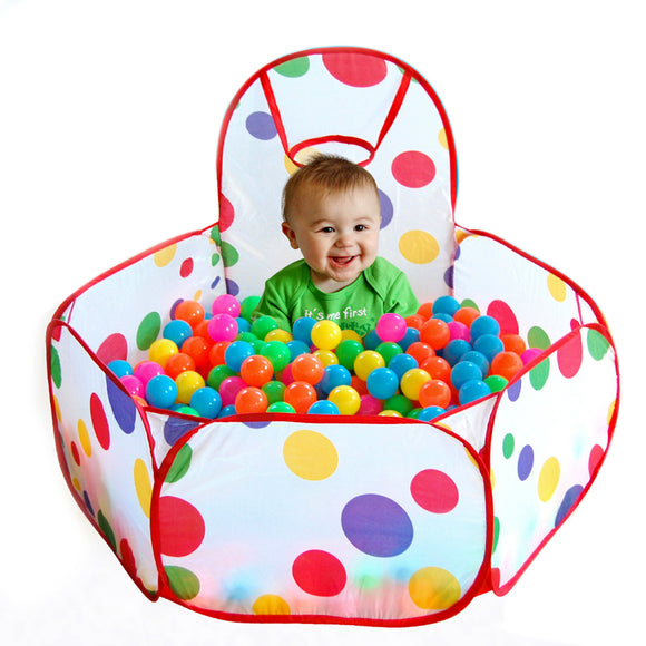 New Folding Kids Playpen Ocean Ball Game Pit Pool Portable Children Game Play Tent In/Outdoor Playing House Pool Pit - JMOOREKNOWSBEST
