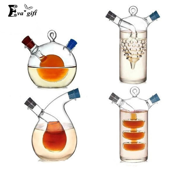 High temperature spice bottle Oil and vinegar galss bottle sauce glass jar sealed seasoning glass small storage wine bottles - JMOOREKNOWSBEST