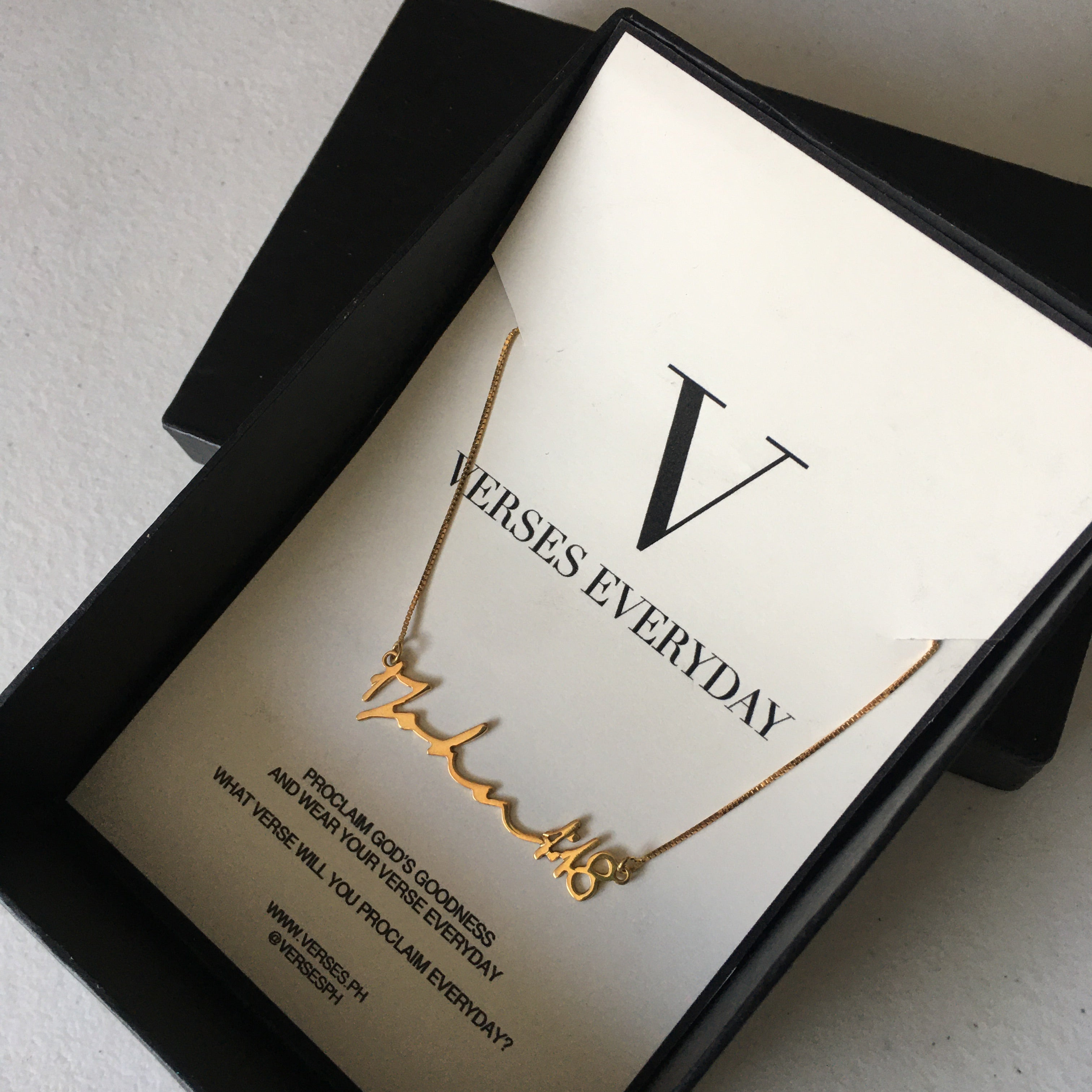 VERSES Everyday Necklace