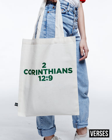 VERSES Tote Bag (White)
