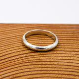 Simply Sterling: Silver Ring (3mm) - Samonte Cruz Studios
