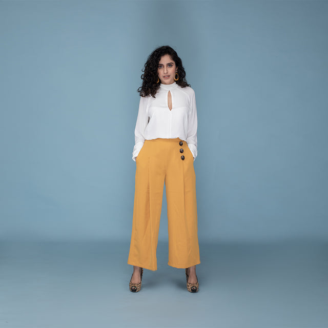 YELLOW RACHEL CULOTTES