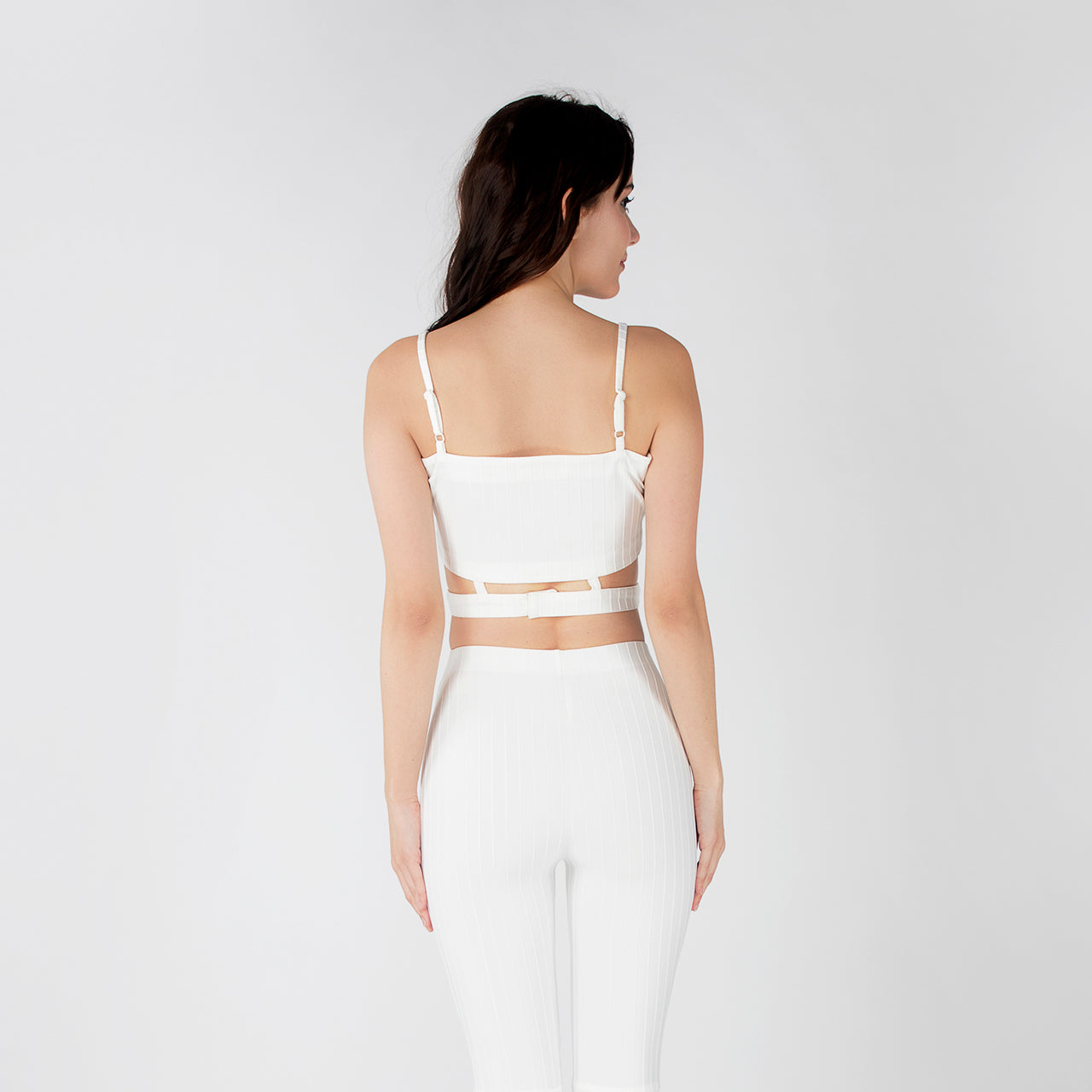 WHITE GAGA CROP TOP