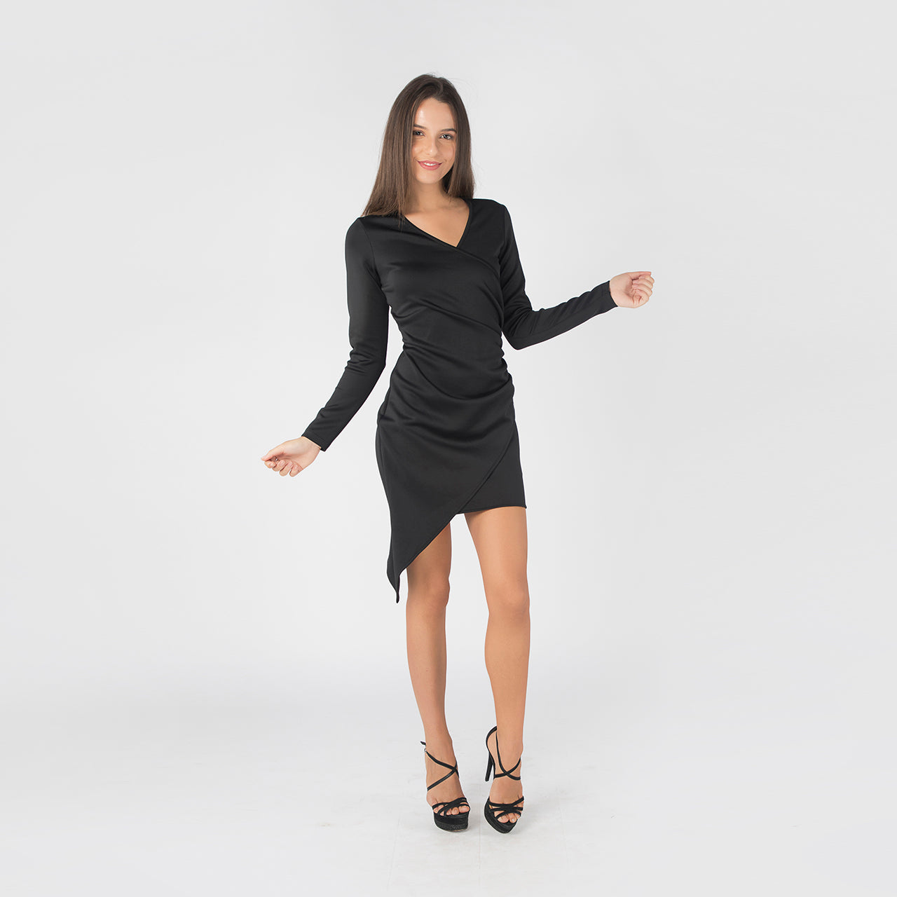 BLACK JANE DRESS