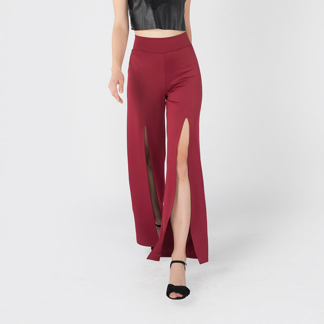 BURGUNDY ROBYN PANTS