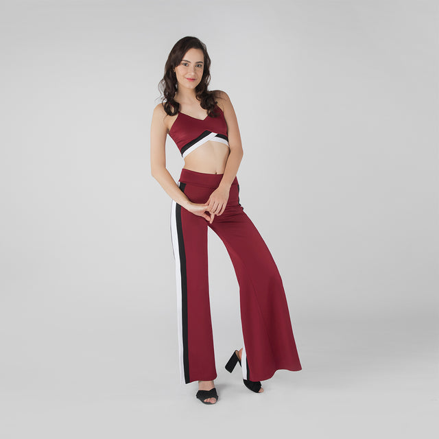 BURGUNDY MAX CO-ORD SET