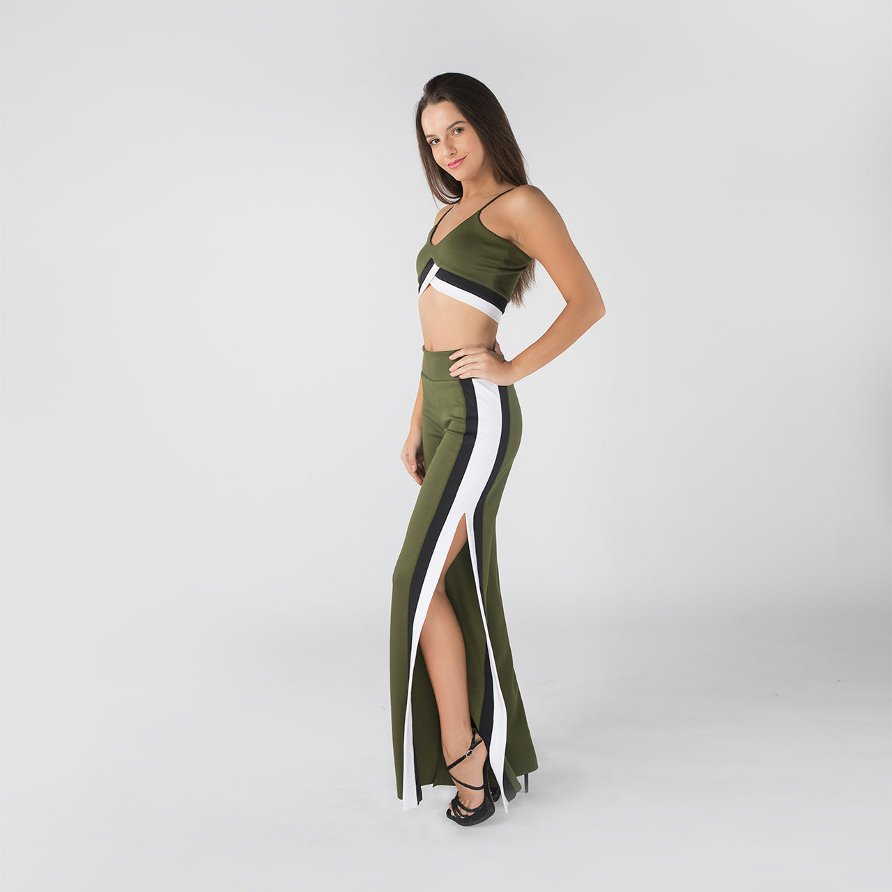 OLIVE MAX CO-ORD SET