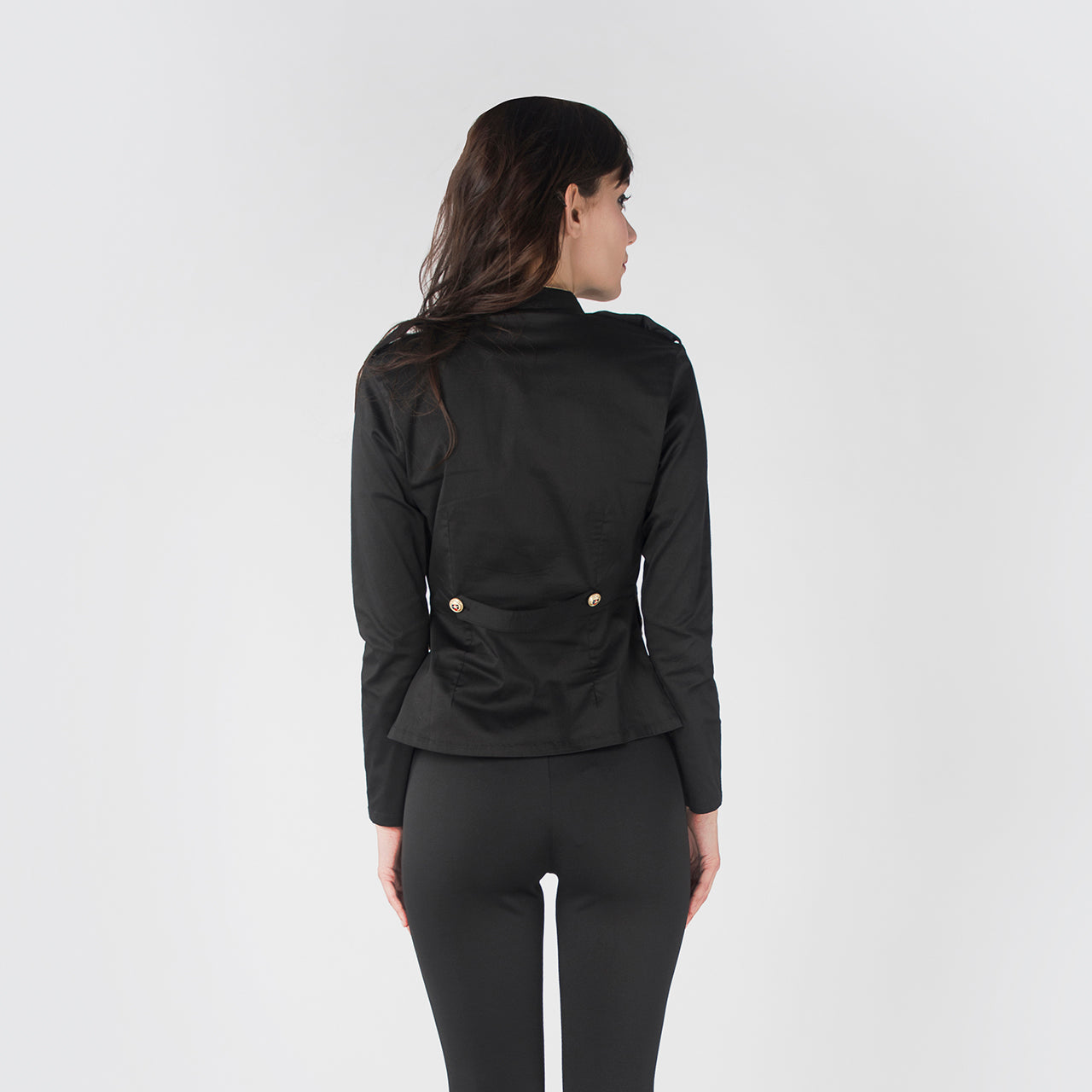 BLACK PRIESTLY JACKET