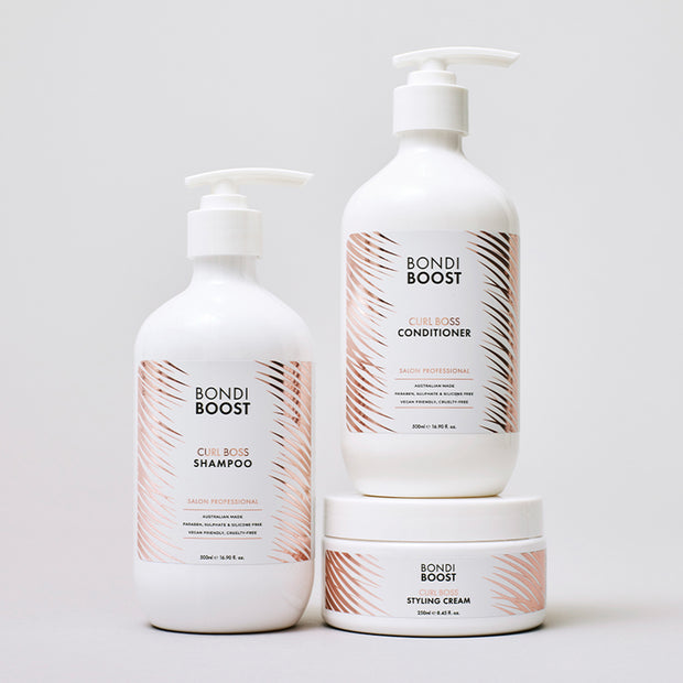 Curl Boss Trio - Valued at $129.85
