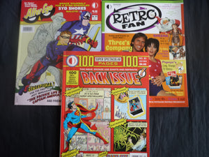Recommended reading Back Issue, Alter Ego, Retro Fan