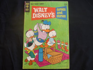 Walt Disney's Comics and Stories iss 347 (B7) 1969 Gold Key Good+