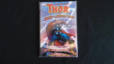 Thor vs Seth the serpent God Softcover graphic Novel (b2) Marvel